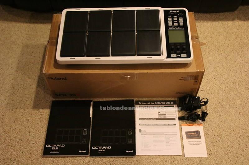 Instrumentos musicales/Músicos: Roland spd 30 octapad bateria electronica en caja original