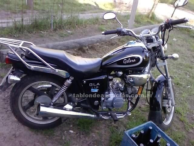 Motocicletas: Vendo moto gilera gla 110 año 2010