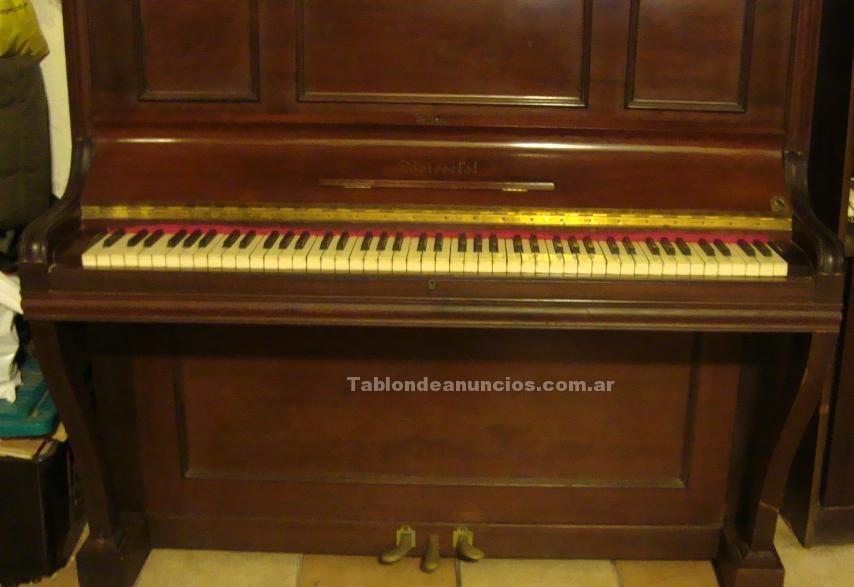 Varios: Vendo piano vertical boisselot