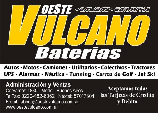 Accesorios: Baterias vulcano