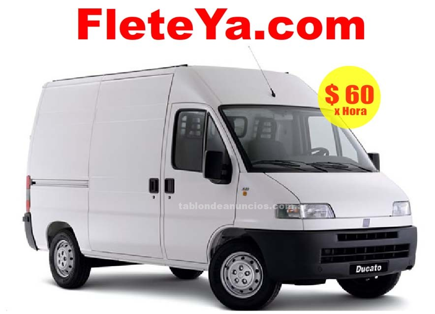 Transporte: Www.fleteya.com  flete 24hs fletes y minifletes en capital federal