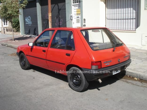 Automoviles: Vendo peugeot 205 modelo 98