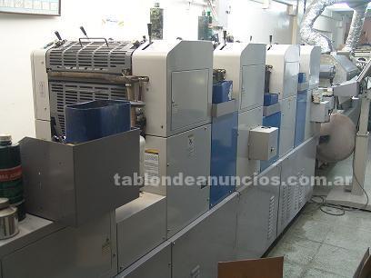 Traspasos venta de negocios: Vendo imprenta y maquinas graficas en capital federal