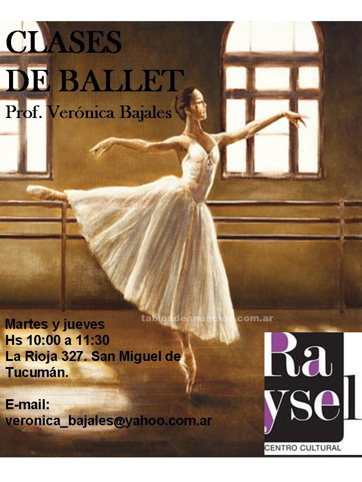 Clases particulares: Clases de ballet-centro cultural raysel