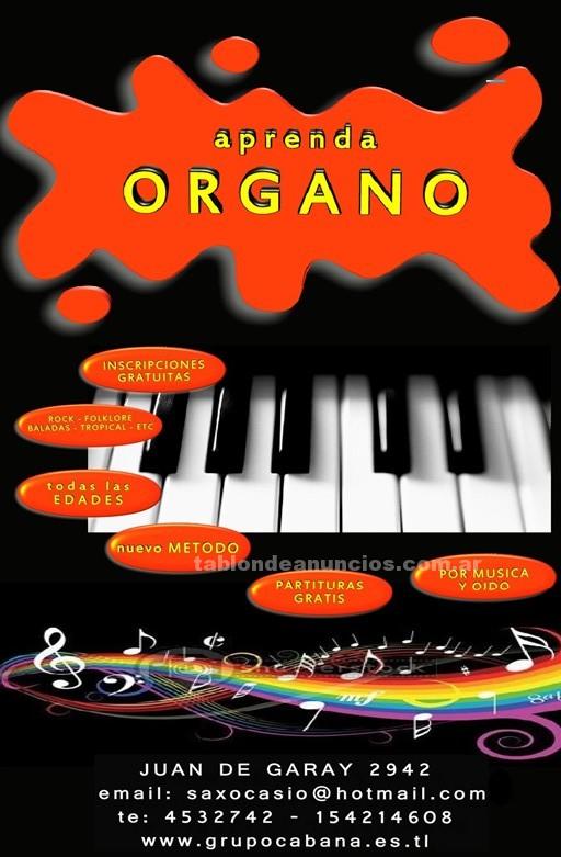 Clases particulares: Clases de musica teclado organo en santa fe argentina curso
