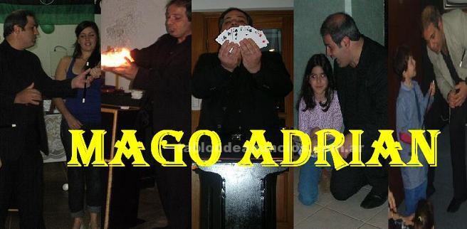 Otros: Mago adrian - show de magia y humor