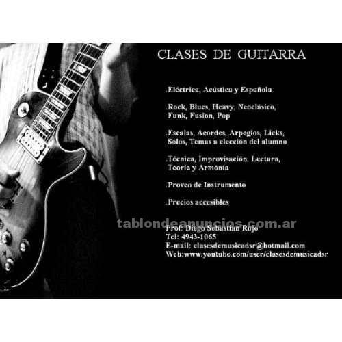 Otros: Clases de guitarra y bajo