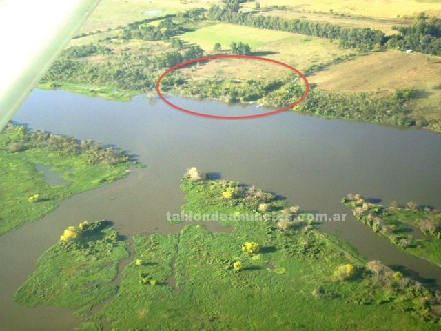Terrenos rústicos: Vendo tres terrenos con costa al rio corrientes