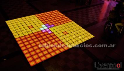 Varios: Pista piso led 16millones de colores * liverpool dancing floor