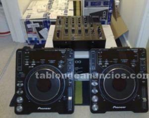 Musica (discos,cds..): 2x pioneer cdj 1000mk3 +  djm 800 la venta