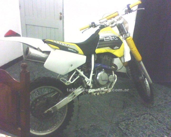 Motocicletas: Vendo dr impecable