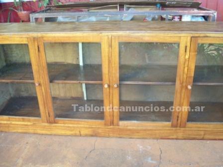 Comercio: Mobiliario y máquinas: Oferta!!! vitrina mostrador