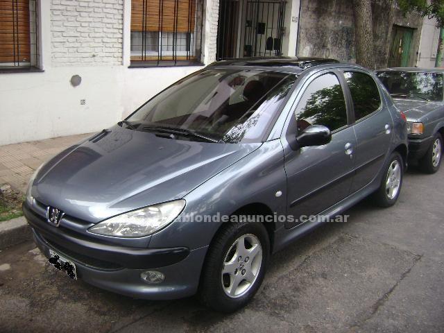 Automoviles: Peugeot 206 full con techo corredizo