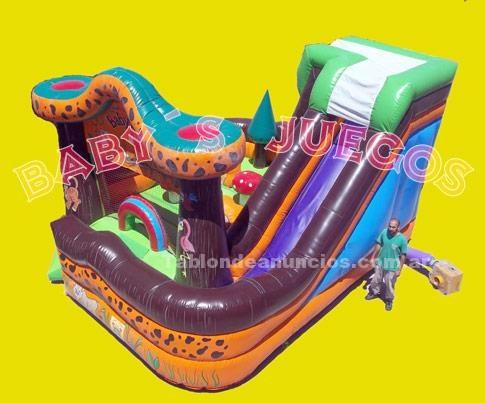 Otros: Fabrica de juegos peloteros toboganes inflables en tierra del fuego