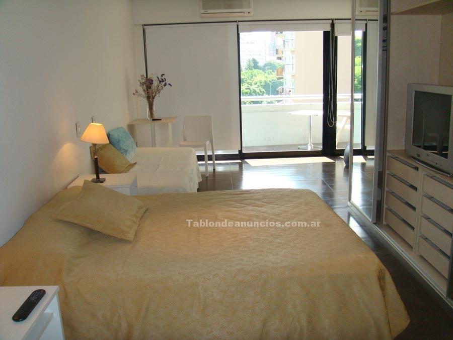 Alquiler departamentos: Bº las cañitas alq temp 1 dorm balcon vta jardines