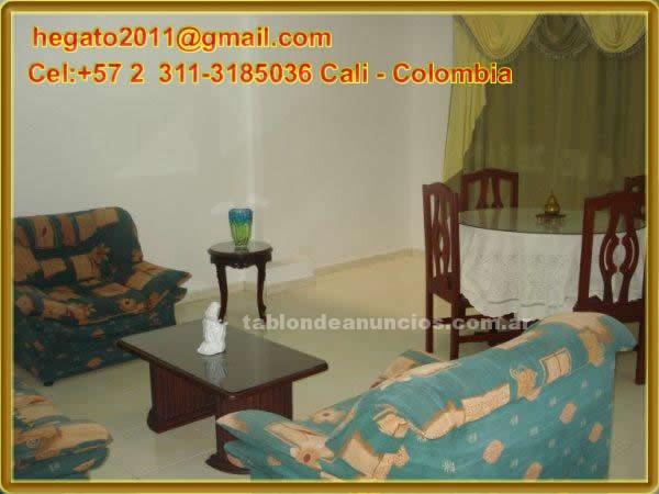 Alquiler Temporada: Alquiler temporal para apartamento amoblado cali colombia