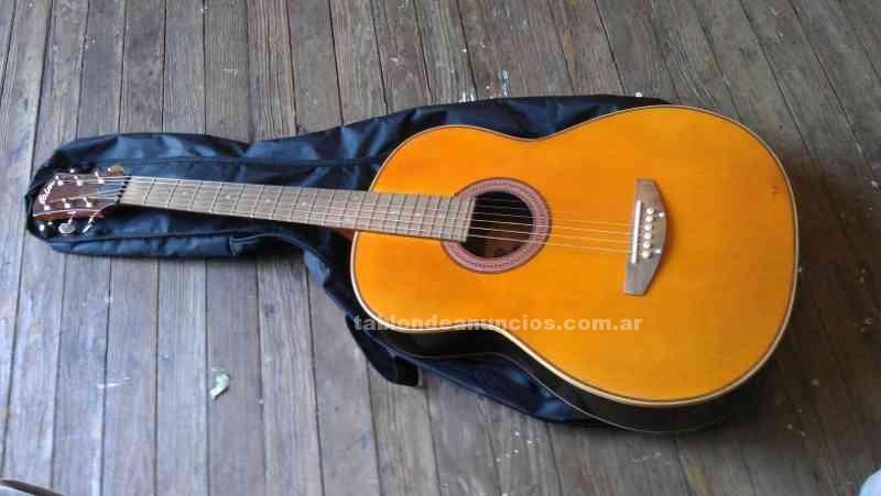 Instrumentos musicales/Músicos: Guitarra acustica faim como nueva!