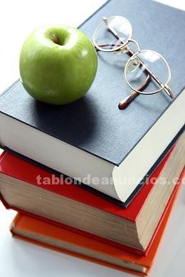 Clases particulares: Clases particulares: escuela primaria y secundaria.
