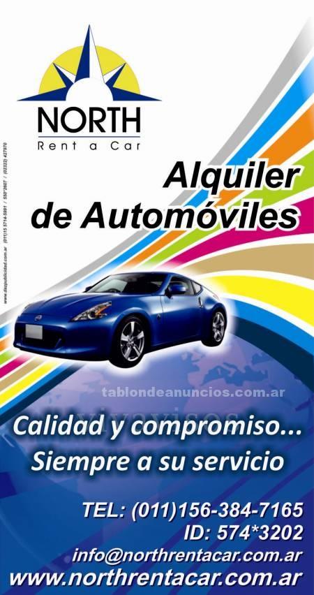 Automoviles: Alquiler de autos / zona norte / pilar