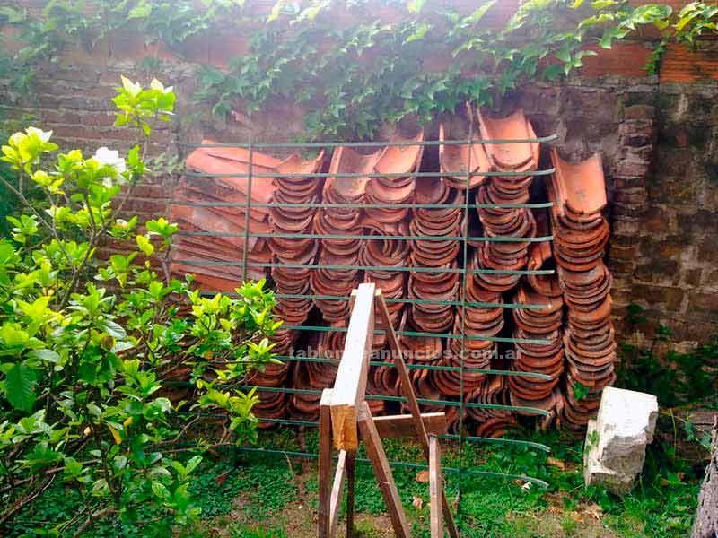 Varios: Vendo tejas coloniales usadas (x refaccion)