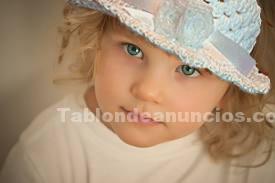 Varios: Capelinas, gorros y sombreros tejidas al crochet para niños y bebés