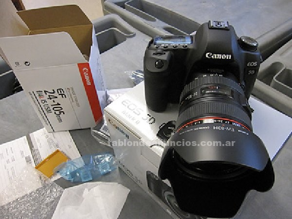 Fotograf./video/cine: Canon eos 5d mark iii kit digital camera - 24-105mm lens