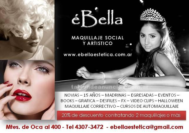 Fiestas y eventos: Maquillaje social y profesional