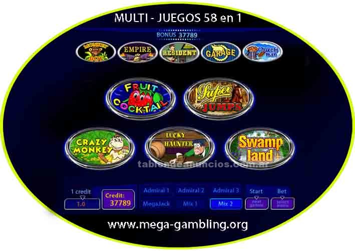 Video Consolas y Juegos: Multi - juegos 58 en 1
