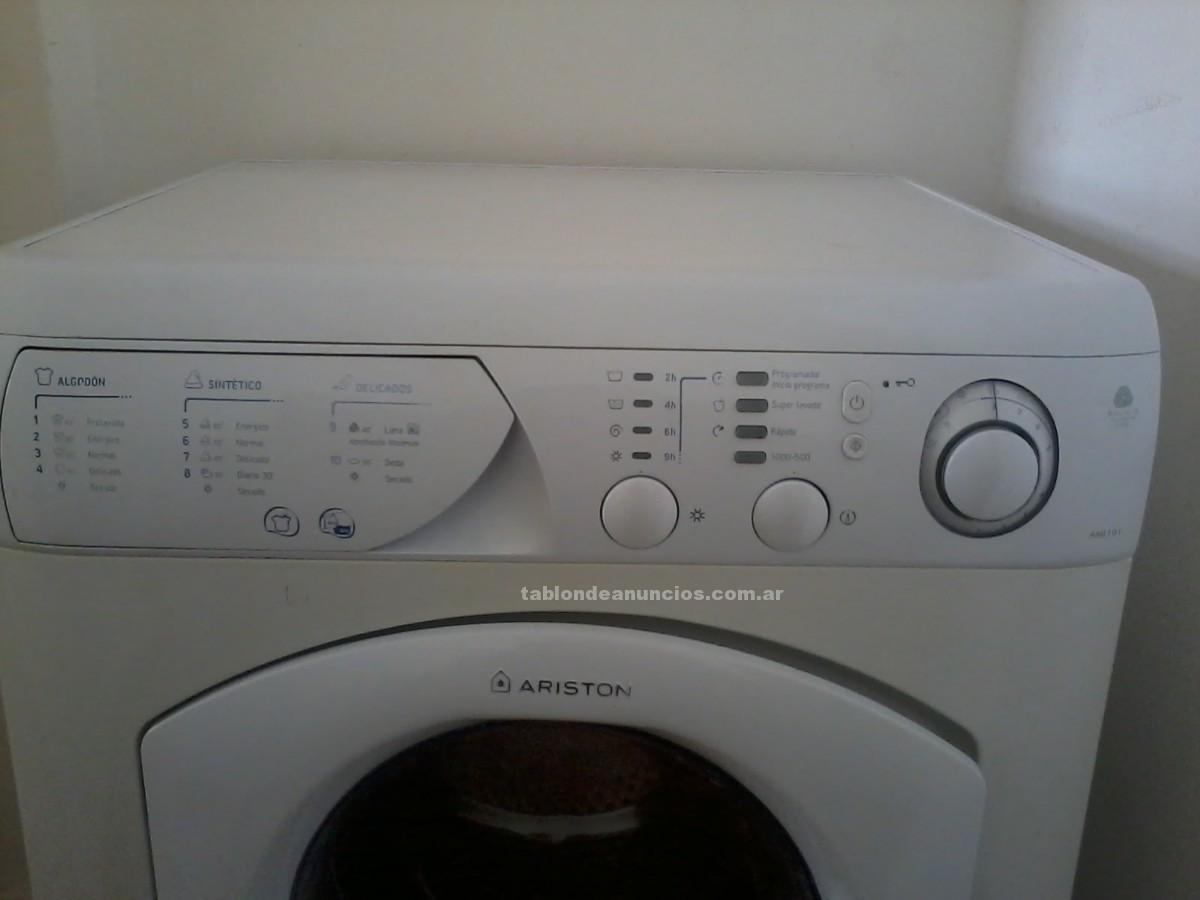 Electrodomésticos y menaje: Lavasecarropas ariston aml101 venta
