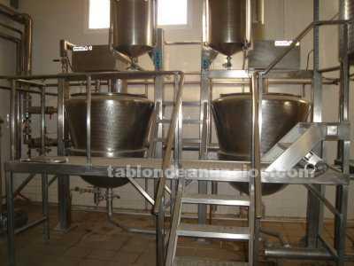 Maquinaria y Herramientas: Vend fabrica de dulce leche pluma molde desnatadora cisternas estanteria rallado