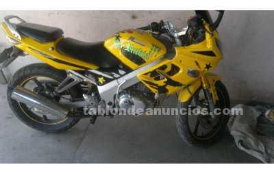 Motocicletas: Motomel sr200 chocada