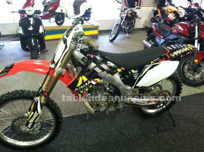 Motocicletas: Vendo honda crf 450 0km